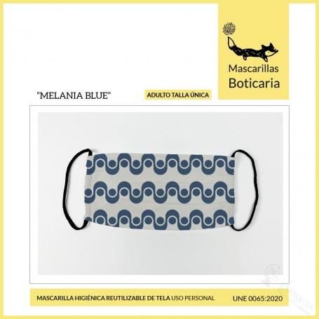 Mascarilla Boticaria Melania Blue Adulto