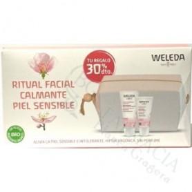Pack Weleda Leche Limpoadpra Almendras + Crema Almendras