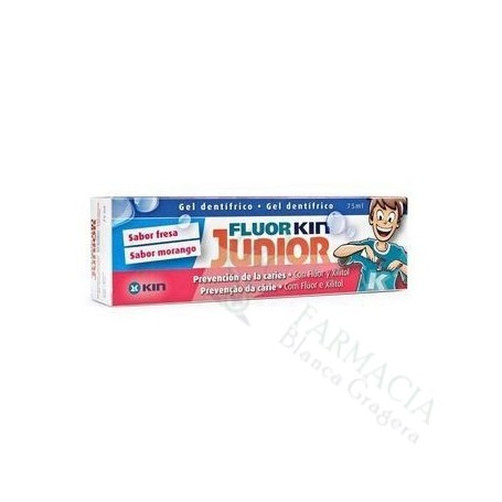 Kin Fluor Junior Gel Fresa 75 Ml