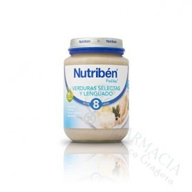 NUTRIBEN VERDURAS LENGUADO 250 ML