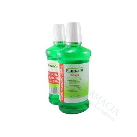 Fluocaril Colutorio 2X500Ml