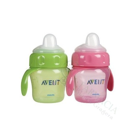 AVENT PHILIPS VASOS MAGIC BOQUILLA BLANDA 6+ M S