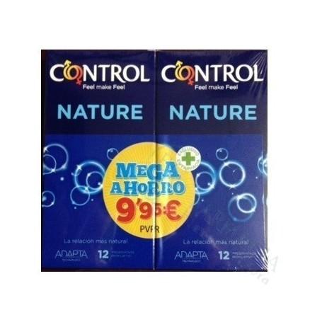 PACK CONTROL NATURE PRESERVATIVOS 24 UDS