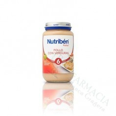 NUTRIBEN POLLO VERDURAS 250 ML