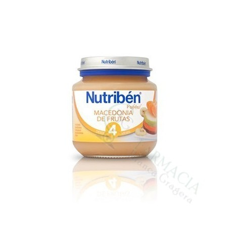 NUTRIBEN BEBE INICIO MACEDONIA FRUTA