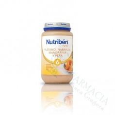 NUTRIBEN PLATANO NARANJA MANDARINA PERA 250 ML