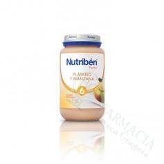NUTRIBEN PLATANO Y MANZANA 250 ML