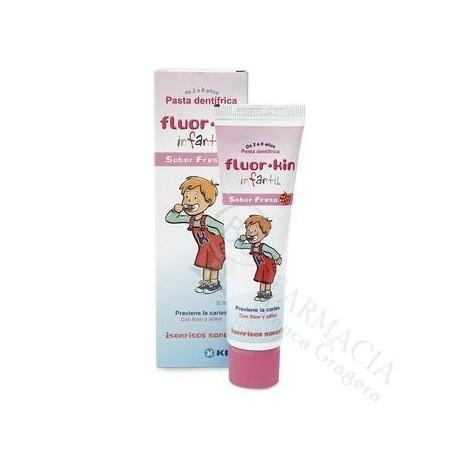 Kin Fluor Pasta Infantil Dosificador