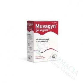 MUVAGYN GEL VAGINAL 5 ML 8 TUB