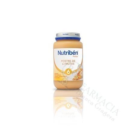 NUTRIBEN POSTRE FRUTAS 250 ML