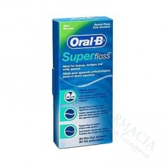 HILO DENTAL ORAL-B SUP FLOS50U