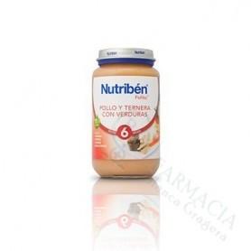 NUTRIBEN POLLO TERNERA VERDURA 250 ML