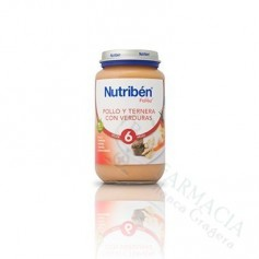 NUTRIBEN POLLO TERNERA VERDURA 250 ML