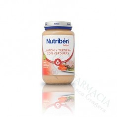 NUTRIBEN JAMON TERNERA Y VERDURAS 250 ML