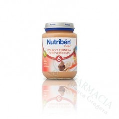 NUTRIBEN JUNIOR POLLO TERNERA VERDURAS