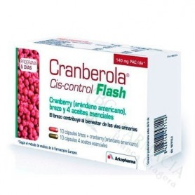 CRANBEROLA CISCONTROL FLASH ARANDANO AMER 20 CAP