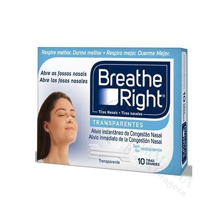 TIRA NASAL BREATHE TRANSP GD10