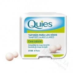 TAPONES OIDOS CERA QUIES 16 UDS
