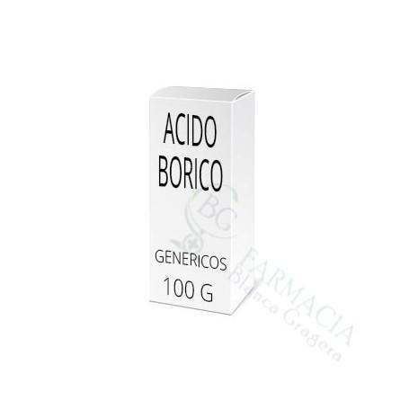 ACIDO BORICO GENERICOS 100 G
