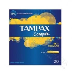 TAMPON TAMPAX COMPAK REGUL 20
