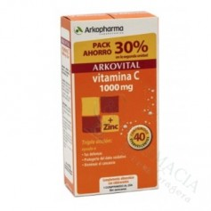 PACK ARKOVITAL VITAMINA C 1000MG