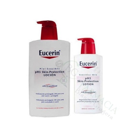 KIT EUCERIN LOCION +LOCION 1000 ML