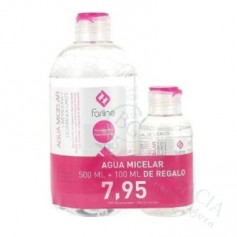 FARLINE PACK AGUA MICELAR 500ML + 100ML