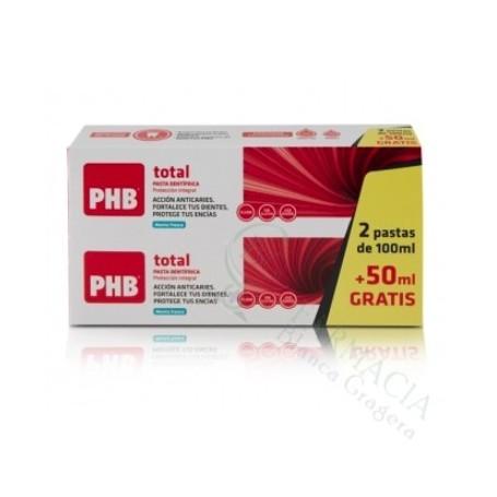 PHB TOTAL PASTA DENTAL 100 ML 2 TUBOS