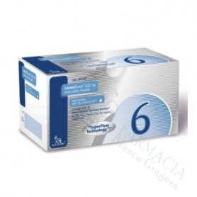 NOVOFINE 32G 6MM 100 AGUJAS
