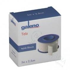 ESPARADRAPO GALENO TELA BLANCO 5 X 2,5