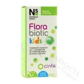 NS FLORABIOTIC KIDS 8 SOBRES