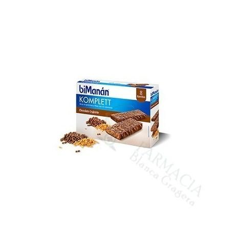 Bimanan Chocolate Komplett 8 Barritas