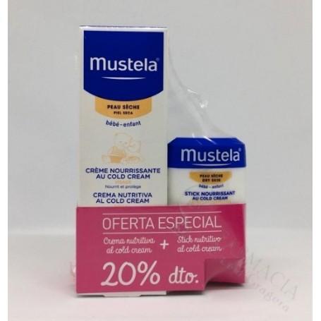MUSTELA COLD CREAM BEBE 40ML
