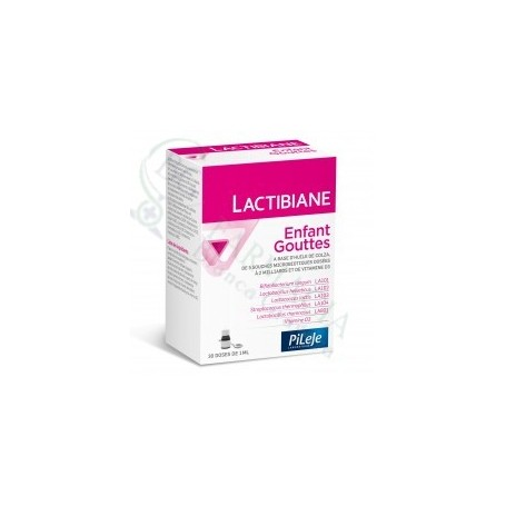 PILEJE LACTIBIANE ENFANT GOTAS 30 ML + SOBRE