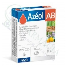 PILEJE AZEOL AB 30 CAPS