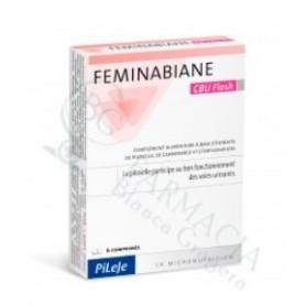 PILEJE FEMINABIANE C.U. FLASH 6 COMPRIMIDOS