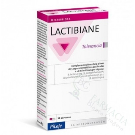 PILEJE LACTIBIANE TOLERANCE 2.5 G 30 CAPS