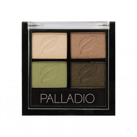 PALLADIO PALETA DE SOMBRAS QUAD 03 GREEN