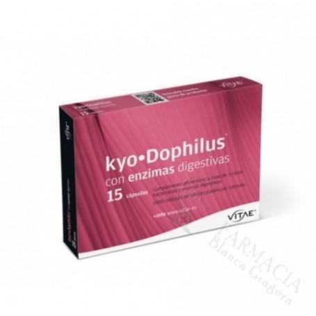 KYODOPHILUS CON ENZIMAS 15 CAPS
