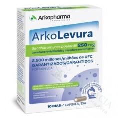 ARKO-LEVURA SACCHAROMYCES BOULARDII 250 MG 10 CA