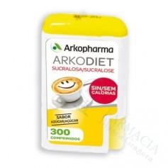 ARKO SUCRALOSA ENDULZANTE EXT DEL AZUCAR 300 COM