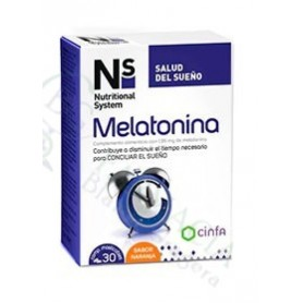 NS MELATONINA SABOR NARANJA 1.95 MG 30 COMP MASTICABLES