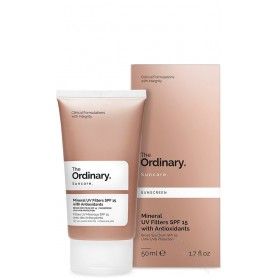 THE ORDINARY MINERAL UV FIL SPF 15 WITH ANTI 50M
