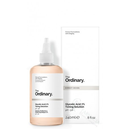 THE ORDINARY GLYCOLIC ACID 7% TONING SOL 240ML