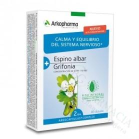 ARKOCAPSULAS COMPLEX ESPINO ALBAR + GRIFONIA 40 CAPS