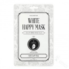 Mascariilla Kocostar White Happy Mask