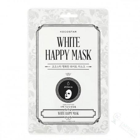 Mascariilla Kocostar White Happy Mask