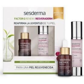 Pack Resveraderm Crema Gel + Factor G Serum