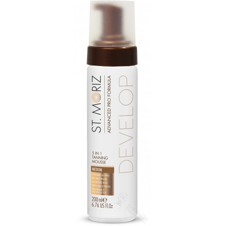 ST MORITZ MOUSSE AUTOBRONCEADOR 5 EN 1 MEDIUM 200 ML