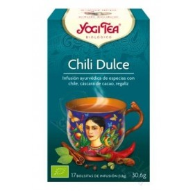 YOGI TEA CHILI DULCE 17 INF